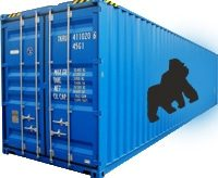 45ft high cube container