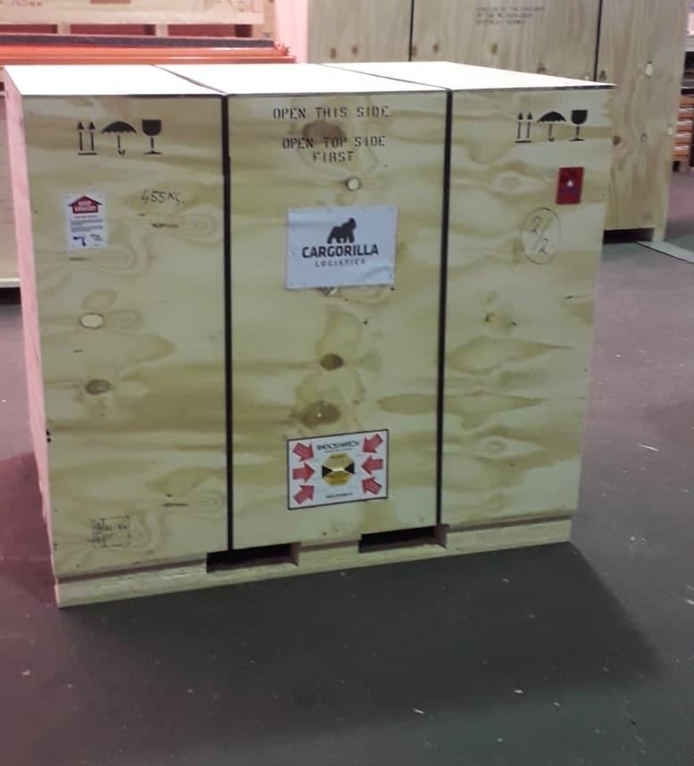 Bekisting luchtvracht - Cargorilla Logistics